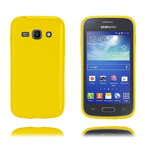 GelCase (Gul) Samsung Galaxy Ace 3 Skal