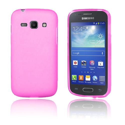 Semi Transparent (Het Rosa) Samsung Galaxy Ace 3 Skal