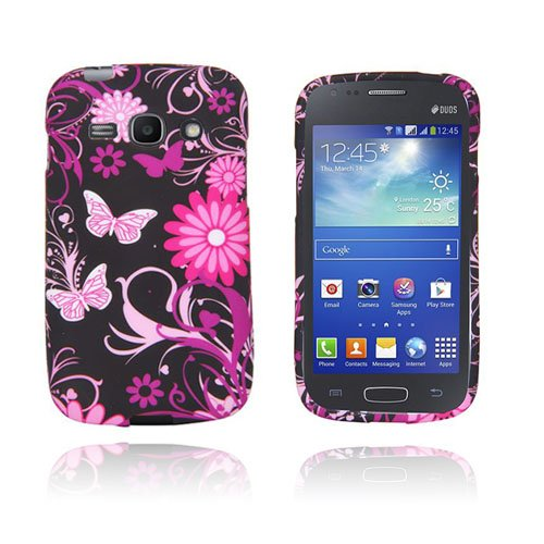 Symphony (Rosa Fjärilar) Samsung Galaxy Ace 3 Skal