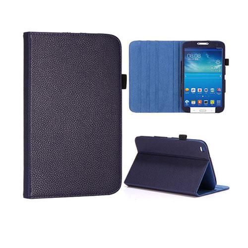 Omega (Mörkblå) Samsung Galaxy 3 8.0 Läderfodral