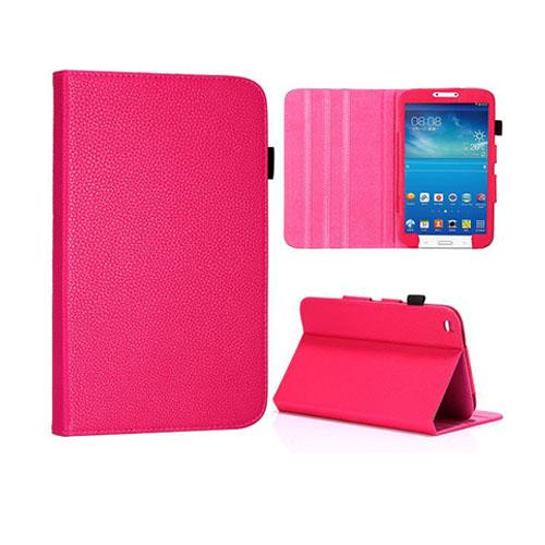 Omega (Rosa) Samsung Galaxy 3 8.0 Läderfodral