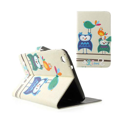 Moberg Samsung Galaxy Tab 3 8.0 Fodral – Cartoon Uggla & Fågel
