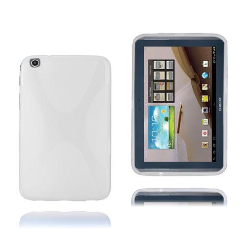 X-Line (Vit) Transparent Samsung Galaxy Tab 3 Plus 8.0 Skal
