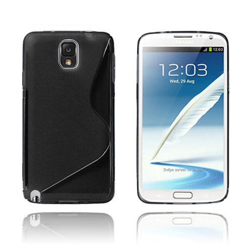S-Line (Svart) Samsung Galaxy Note 3 Skal