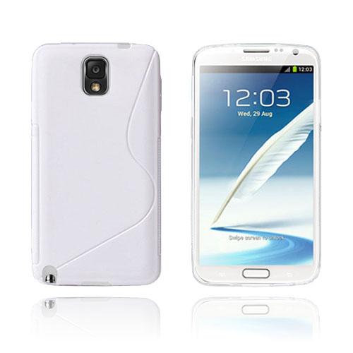 S-Line (Vit) Samsung Galaxy Note 3 Skal