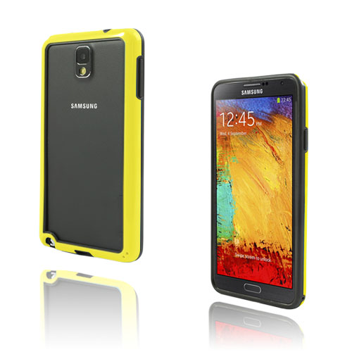 Jumper (Gul) Samsung Galaxy Note 3 Bumper