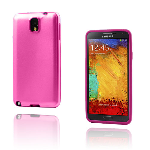 Alu Guard (Knallrosa) Samsung Galaxy Note 3 Aluminum Skal