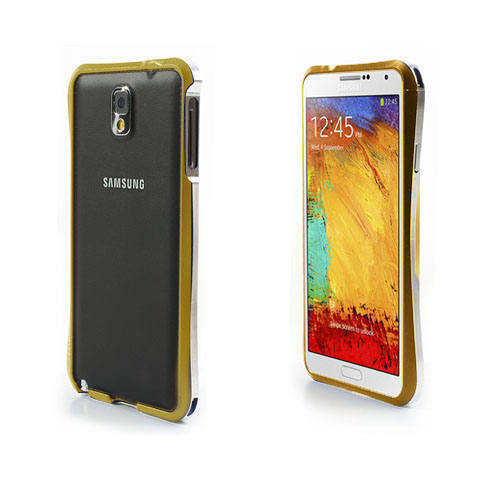 T3 Bumper (Guld) Samsung Galaxy Note 3 Bumper