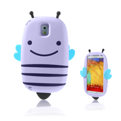 Honeybee (Lila) Samsung Galaxy Note 3 Skal