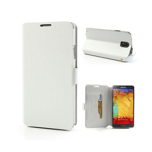 Pacific (Vit) Samsung Galaxy Note 3 Läderfodral