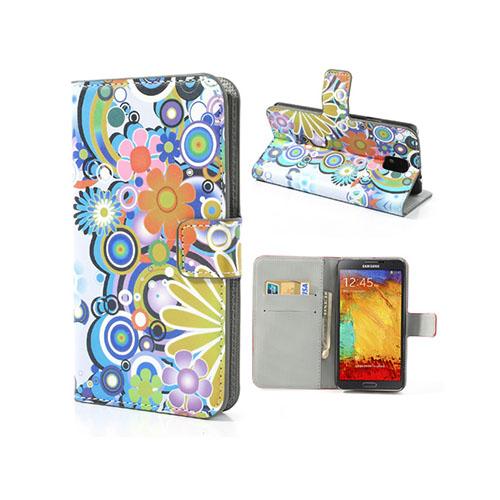 Festival (Flower Power) Samsung Galaxy Note 3 Läderfodral