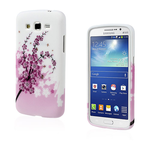 Westergaard (Rosa Plommon) Samsung Galaxy Grand 2 Skal