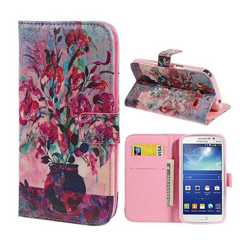 Van Gogh (Blomma i Kruka) Samsung Galaxy Grand 2 Flip-Fodral