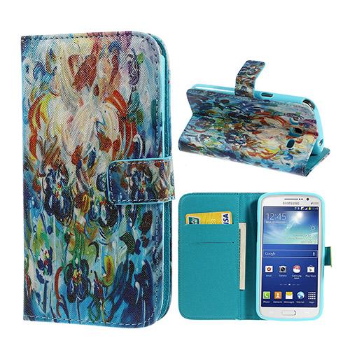 Van Gogh (Abstrakta Blommor) Samsung Galaxy Grand 2 Flip-Fodral