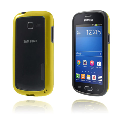 Hubrid (Gul) Samsung Galaxy Trend Lite Bumper
