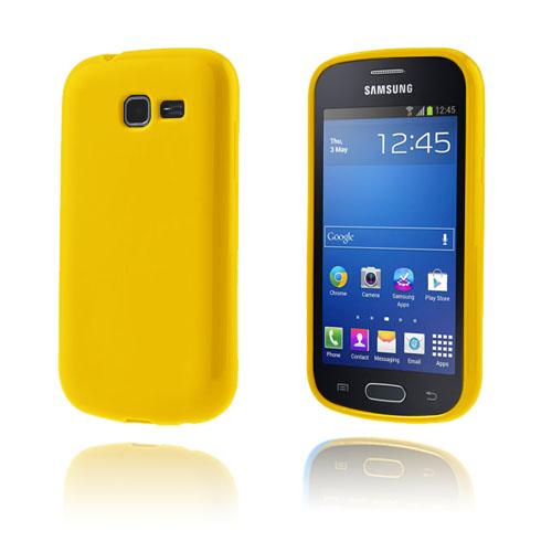 GelCase (Gul) Samsung Galxy Trend Lite Skal