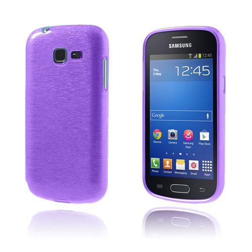 Brush (Lila) Samsung Galaxy Trend Lite Skal