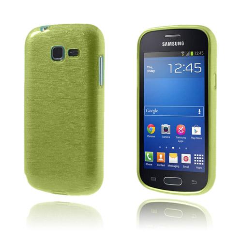 Brush (Grön) Samsung Galaxy Trend Lite Skal