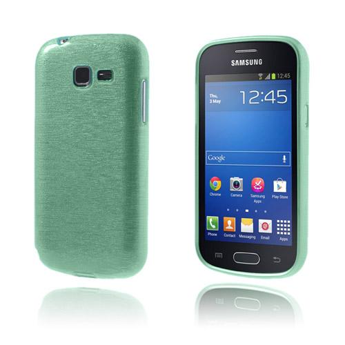Brush (Cyan) Samsung Galaxy Trend Lite Skal