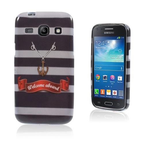 Westergaard Samsung Galaxy Core Plus Silikon Skal – Ankare och Citat