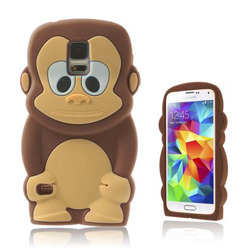 Monkey (Brun) Samsung Galaxy S5 Skal