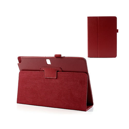 Wall Street (Röd) Samsung Galaxy TabPRO 10.1 Läderfodral