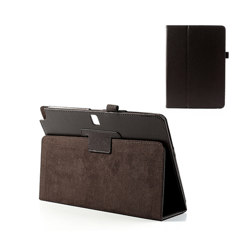 Wall Street (Brun) Samsung Galaxy TabPRO 10.1 Läderfodral