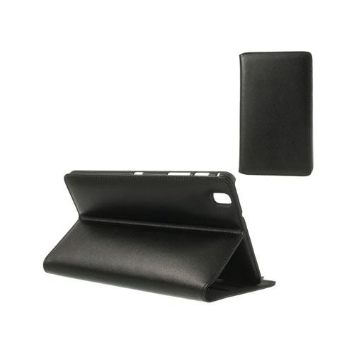 Ambassador (Svart) Samsung Galaxy TabPro 8.4 Genuint Läderfodral