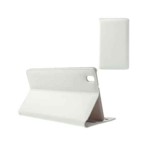 Ambassador (Vit) Samsung Galaxy TabPro 8.4 Genuint Läderfodral