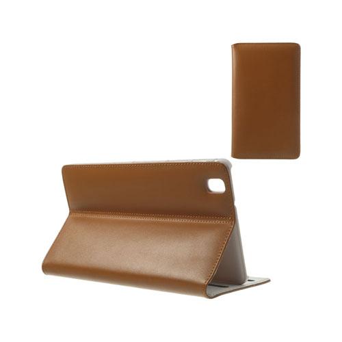 Ambassador (Brun) Samsung Galaxy TabPro 8.4 Genuint Läderfodral