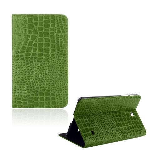 Croco (Grön) Samsung Galaxy Tab 4 8.0 Läderfodral