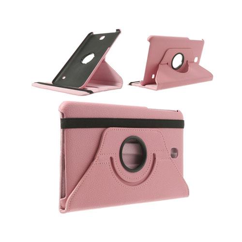 3-Sixty (Rosa) Samsung Galaxy Tab 4 8.0 Läderfodral