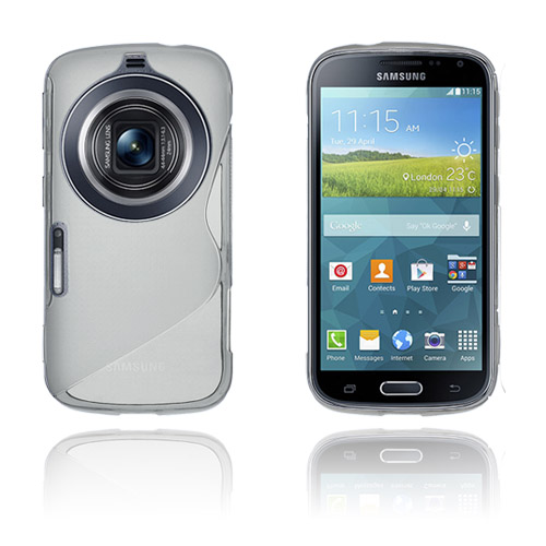 S-Line (Grå) Samsung Galaxy K Zoom Skal