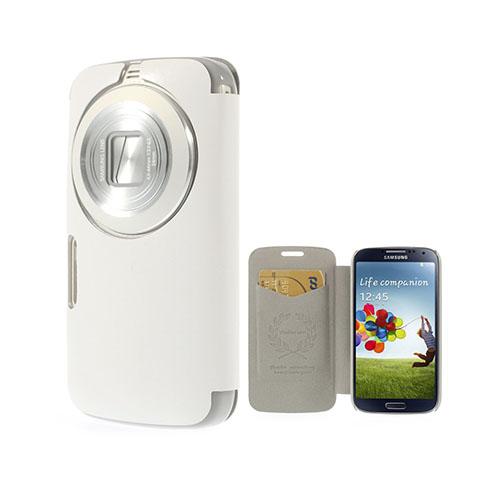 Mankell Samsung Galaxy K Zoom Läder Fodral med Korthållare – Vit