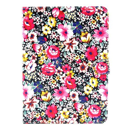 Solstad (Blommande Blommor) Samsung Galaxy Tab 4 10.1 Flip-Fodral