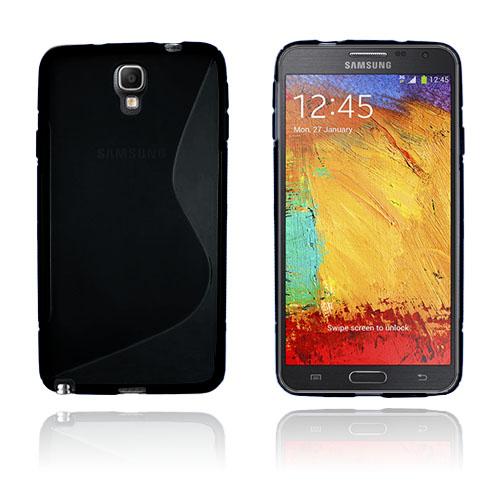 S-Line (Svart) Samsung Galaxy Note 3 Neo Skal