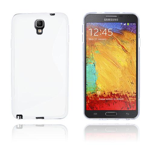 S-Line (Vit) Samsung Galaxy Note 3 Neo Skal