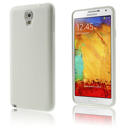 Soft Shell (Vit) Samsung Galaxy Note 3 Neo Skal