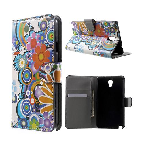 Moberg (Flower Power) Samsung Galaxy Note 3 Neo Flip-Fodral