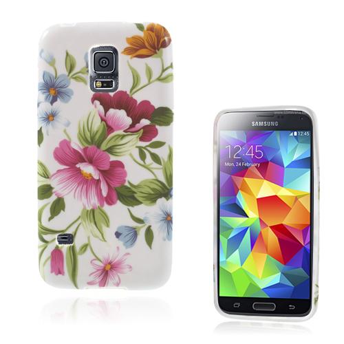Symphony (Rosa Blommor) Samsung Galaxy S5 Mini Skal