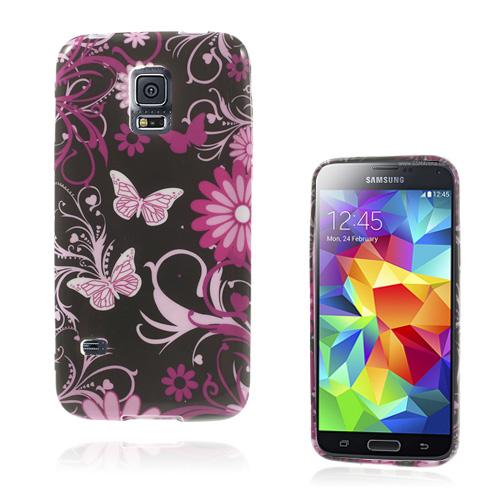 Symphony (Nattfjärilar) Samsung Galaxy S5 Mini Skal