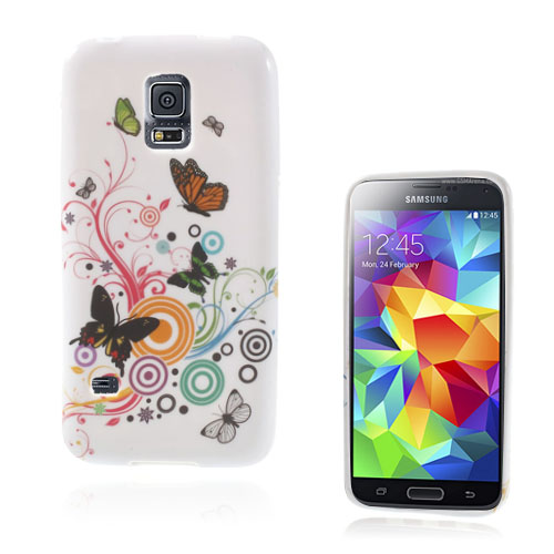 Symphony (Tre Fjärilar) Samsung Galaxy S5 Mini Skal