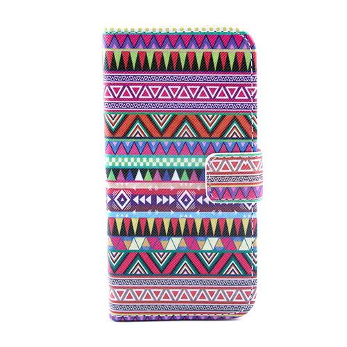 Solstad (Tribal Trianglar) Samsung Galaxy S5 Mini Flip-Fodral