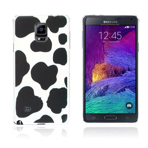 Svart Ink (Svart Tryck) Samsung Galaxy Note 4 Skal