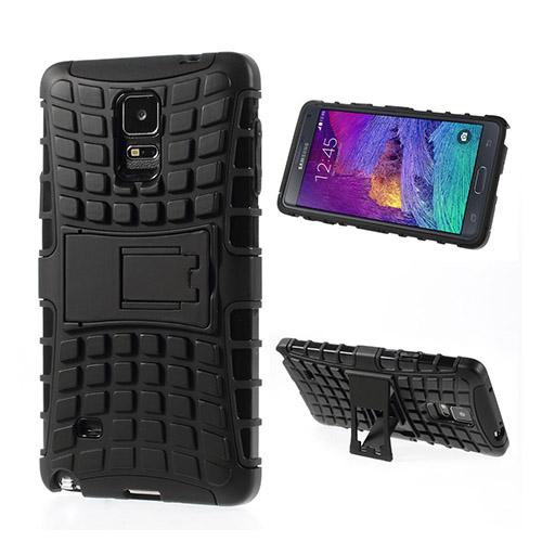 Bomb (Svart) Samsung Galaxy Note 4 Stand Case