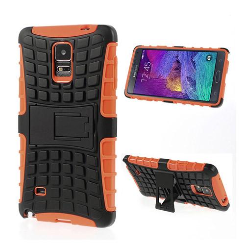 Bomb (Orange) Samsung Galaxy Note 4 Stand Case
