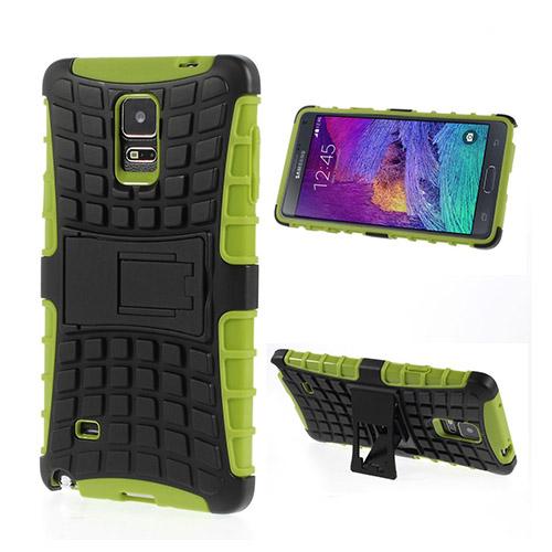 Bomb (Grön) Samsung Galaxy Note 4 Stand Case