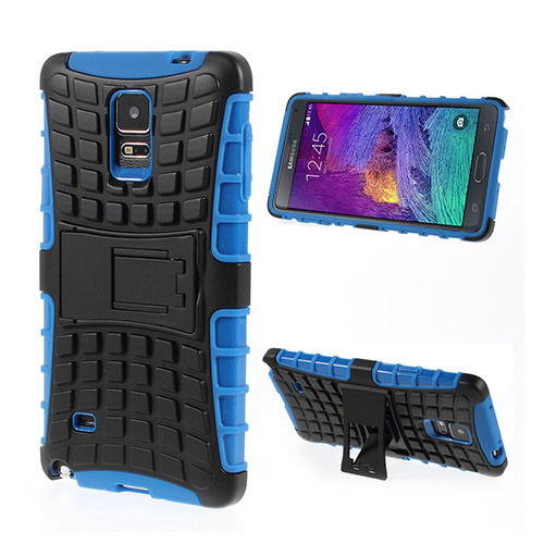 Bomb (Blå) Samsung Galaxy Note 4 Stand Case