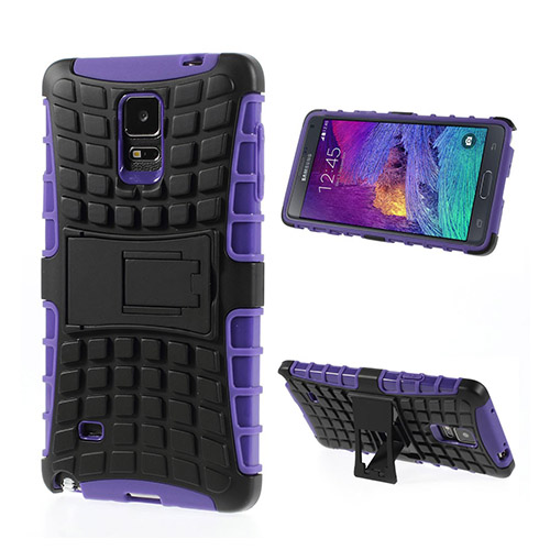 Bomb (Lila) Samsung Galaxy Note 4 Stand Case