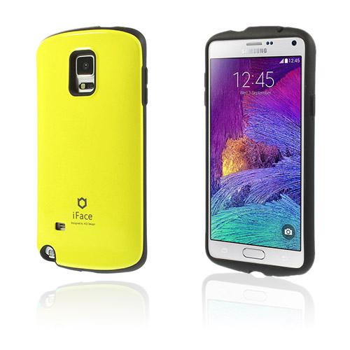 Iface (Gul) Samsung Galaxy Note 4 Skal